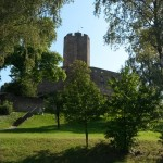 Der achteckige Burgfried