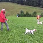 Baira und Helmut in Aktion